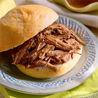 French Dip Sandwiches.