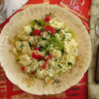 Fish Rice With Peppers.
