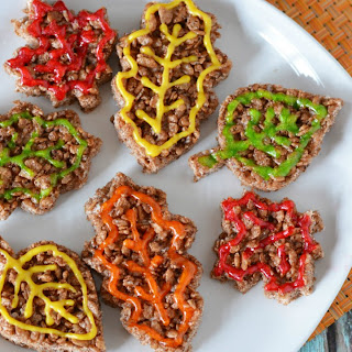 Fall Leaves Rice Krispy Treats