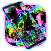 Neon Music Keyboard