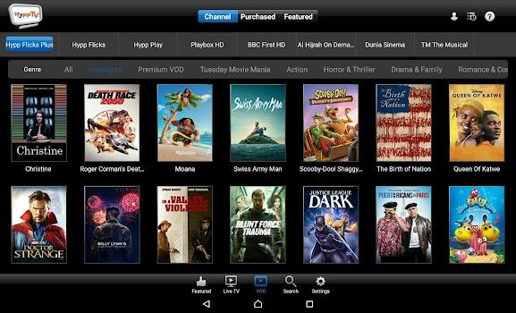 HyppTV Everywhere (tablet)