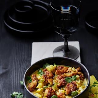Keto Chicken Curry Stew.