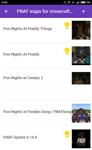 Download FNAF maps for MCPE Google Play softwares