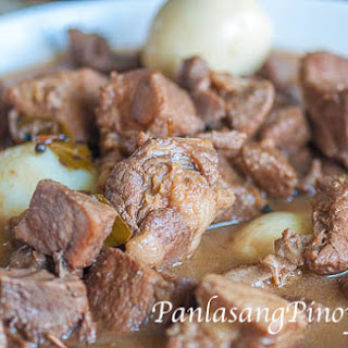 Crock Pot Pork Adobo.