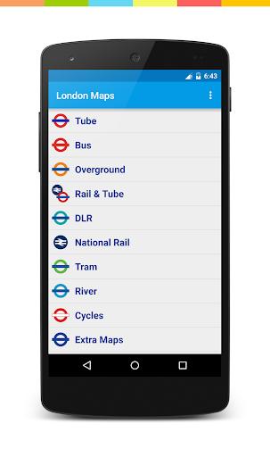 London Travel Maps