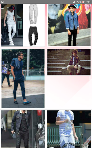 Street Fashion Men Swag Style 1.0 screenshots 13