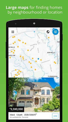 Real Estate in Canada by Zolo Screenshot