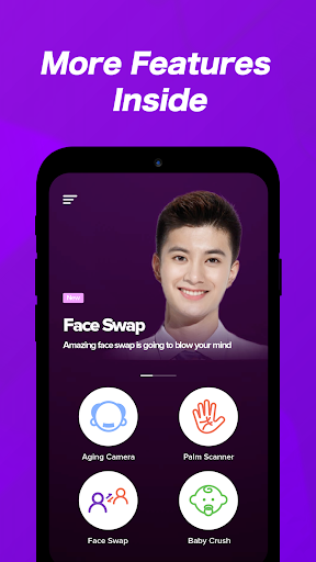 Screenshot for Wonder Me: Face Aging & Palm Reading in Hong Kong Play Store