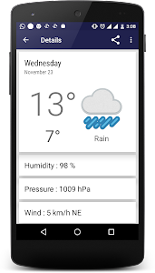 Weather Reporter screenshot 1
