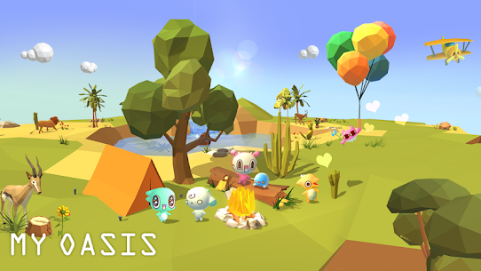 My Oasis: Calming and Relaxing Idle Mod Apk (Unlimited Money) 4