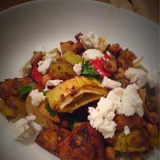 Moroccan Vegetable Traybake