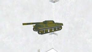 戦車(迷彩カラー)です
