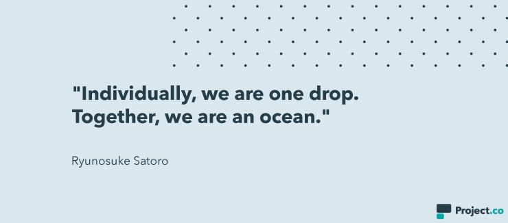 Ryunosuke Satoro quote