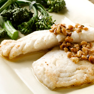 Alaska Pollock with Spicy Butter Sauce
