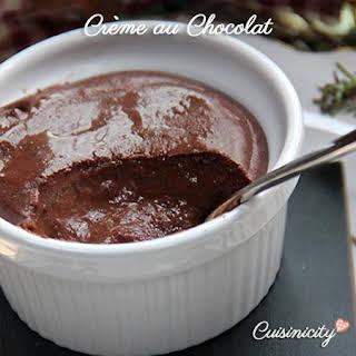 Baked Chocolate Custard.