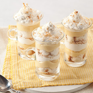 Lemon Coconut Trifle.