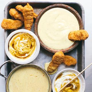 Healthy Honey Mustard Two Ways | Saucy Sunday