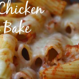 4-Ingredient Chicken Pasta Bake.