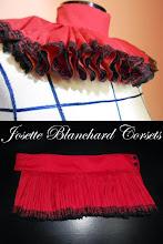 Photo: Rufo realista em algodão e acabamento em renda. R$ 100,00.