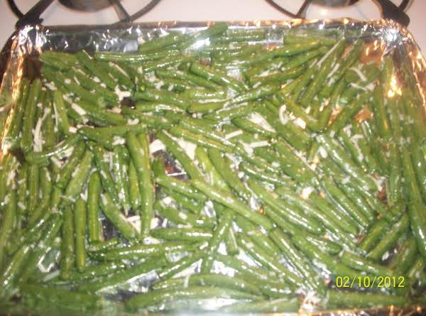 Roasted Parmesan Green Beans