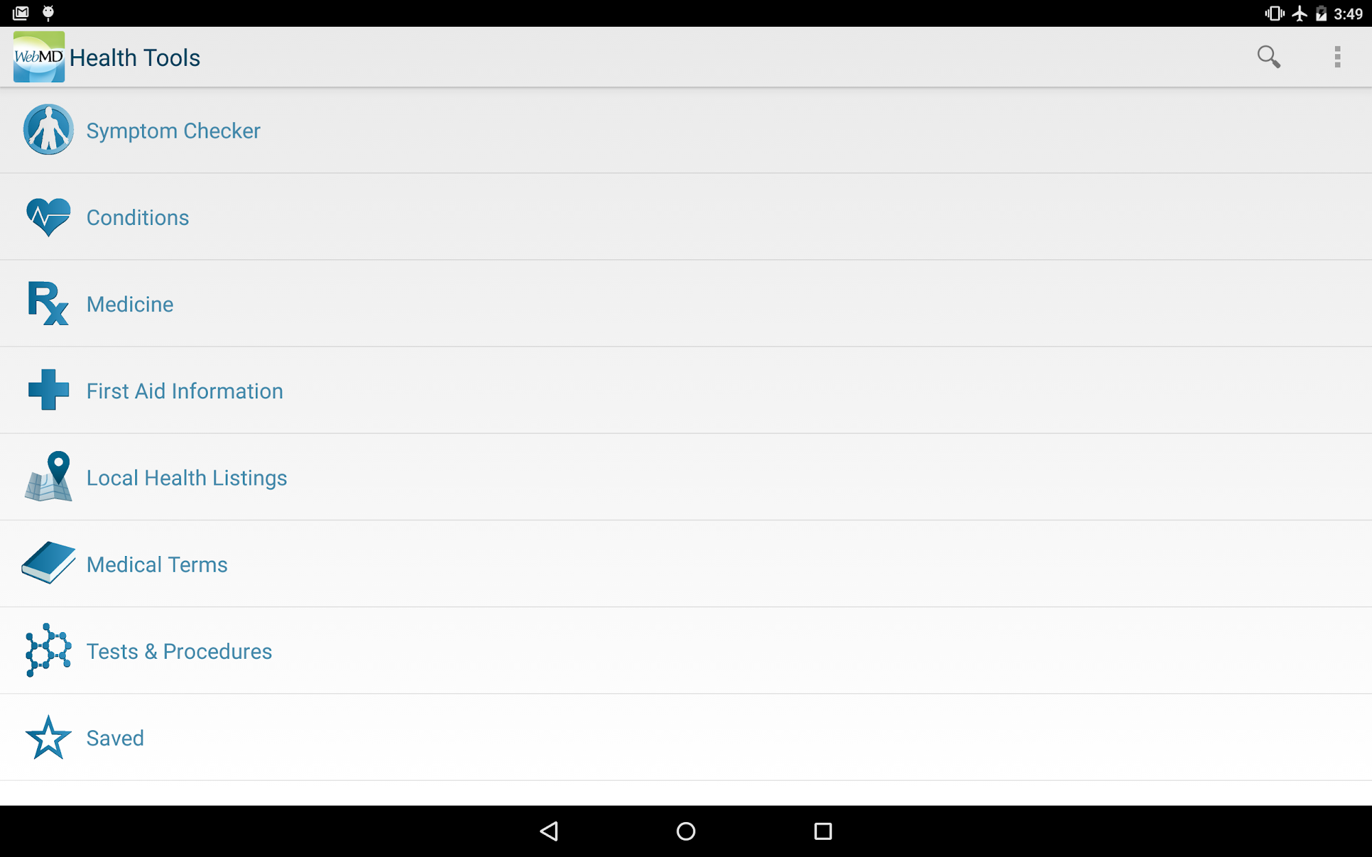 WebMD for Android screenshot #6