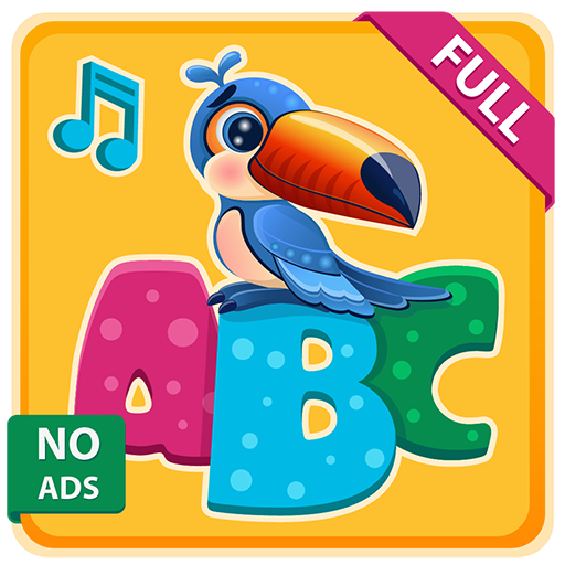 Learn English alphabet ABC with Animals, no ads