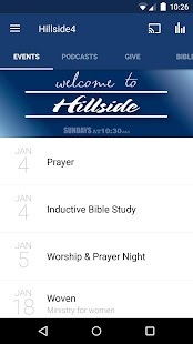 Hillside Church - Reno APP- screenshot thumbnail