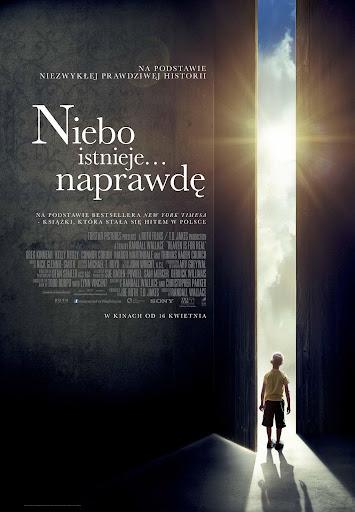 Polski plakat filmu 'Niebo Istnieje... Naprawdę'