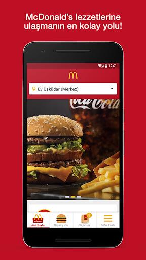 McDonald's - Mobil Yemek Sipariu015fi Ver 7.6.0.04 screenshots 1