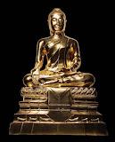 พระบูชาหลวงพ่อใหญ่ ปิดทองคำแท้ หน้าตัก ๙ นิ้ว