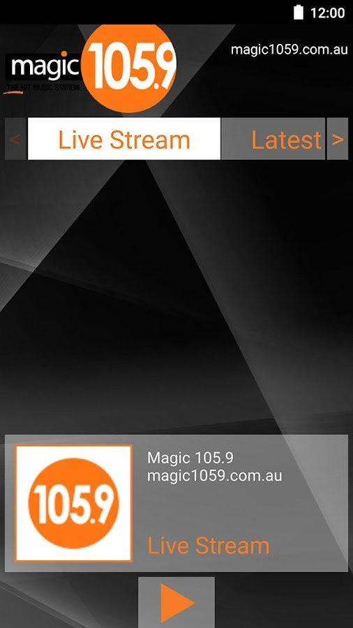Magic 105.9FM- screenshot