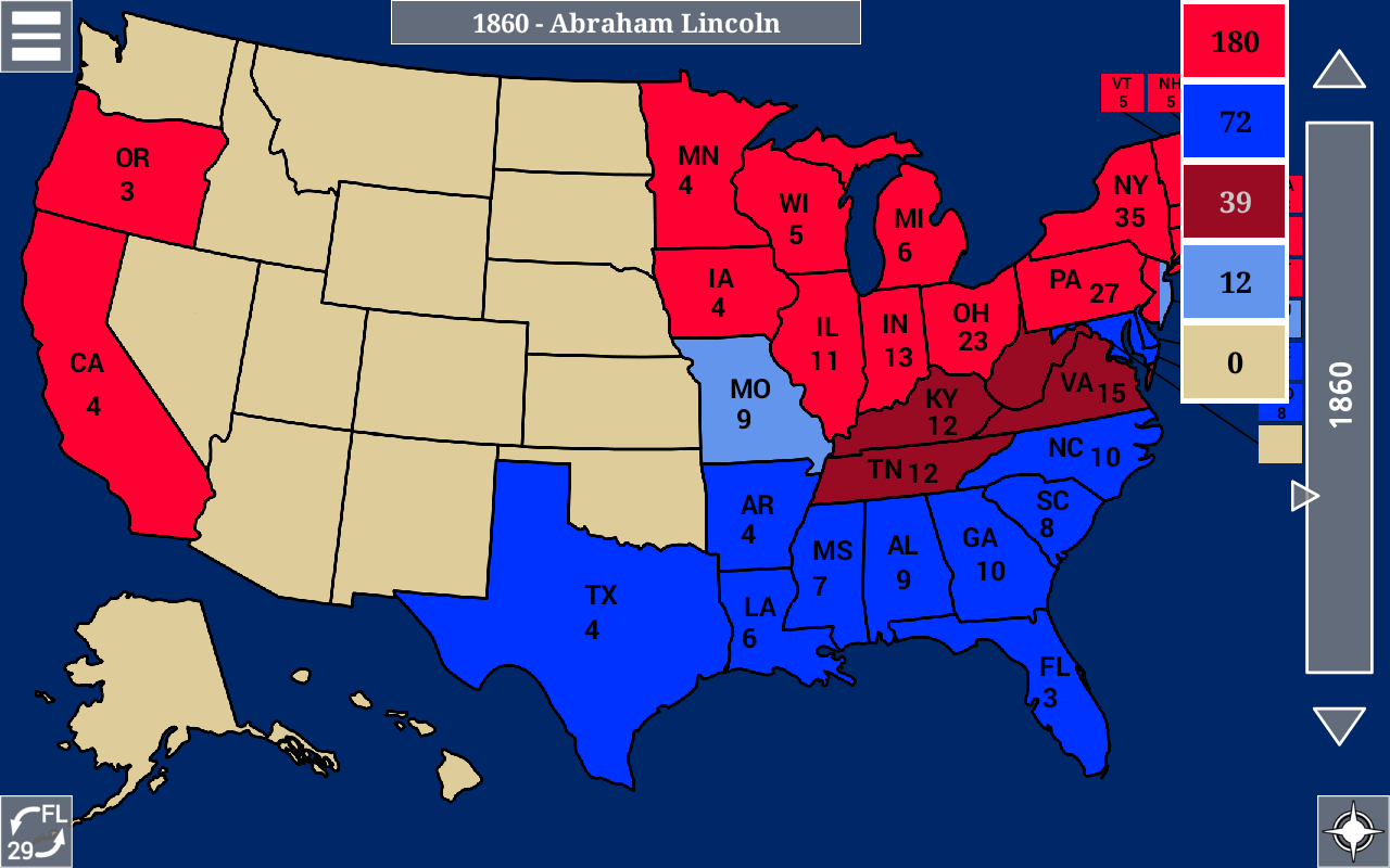 2016 Electoral Map And Presidential Election Results Republican