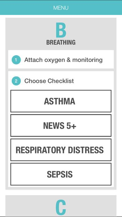 Crisis Checklist- screenshot