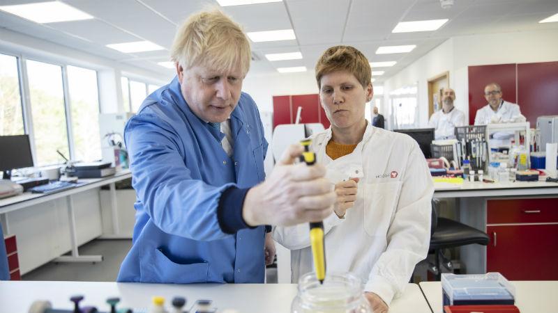 uk government to fund coronavirus rapid diagnostic test