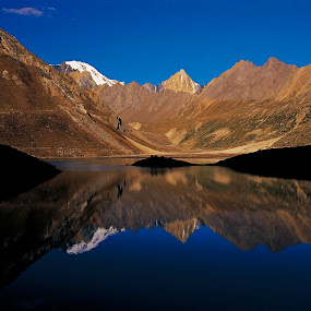 reflection by Neeraj Pant - Landscapes Mountains & Hills