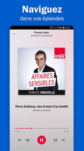 Radio France - podcasts, direct radios 6.5.2 screenshots 5