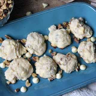 Walnut White Chocolate Cream Cheese Cookie