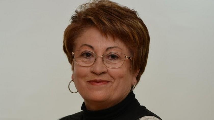 La ex alcaldesa de Gérgal, Leonor Membrive.