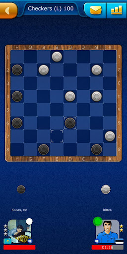 Checkers LiveGames - free online game 3.86 4
