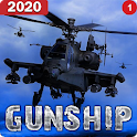 Helicopter Simulator 3D Gunship Battle Air Attack icon