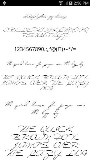 Fonts for FlipFont Love Fonts 4.0.4 screenshots 7