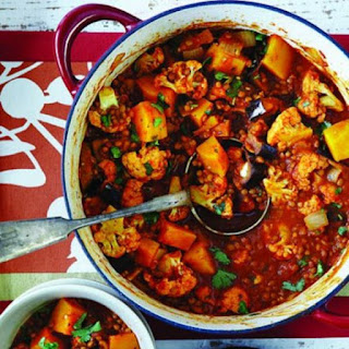 Sweet-and-sour Indian vegetable stew