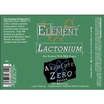 Logo of Element Lactonium