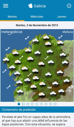 MeteoGalicia  screenshots 5