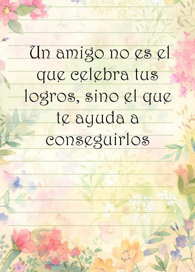 Quotes In Spanish About Friendship Fascinating Friendship Quotes In Spanish  Android Apps On Google Play