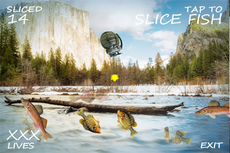 Tap To Slice Fish- screenshot thumbnail
