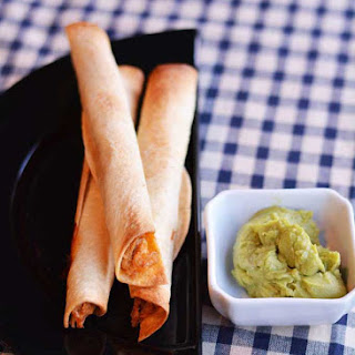 Baked Chicken Flautas | #SundaySupper