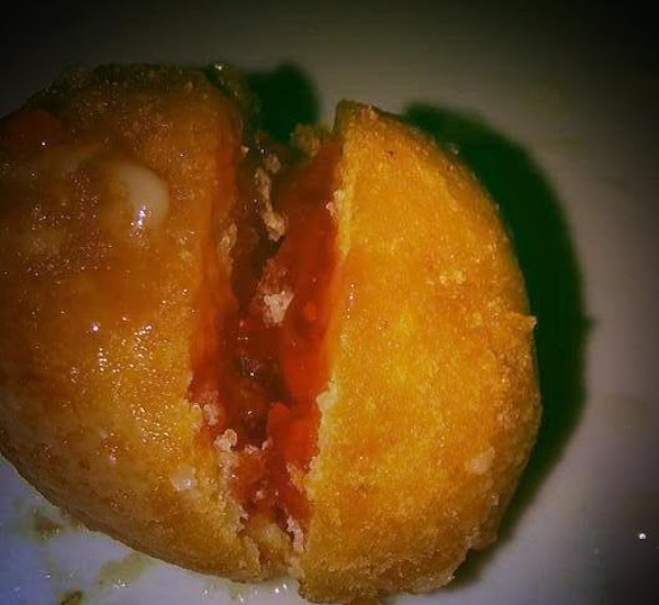 Donut Hole with Strawberry Filling
