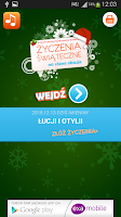 Screenshot of Wishes any occasion (Polish)