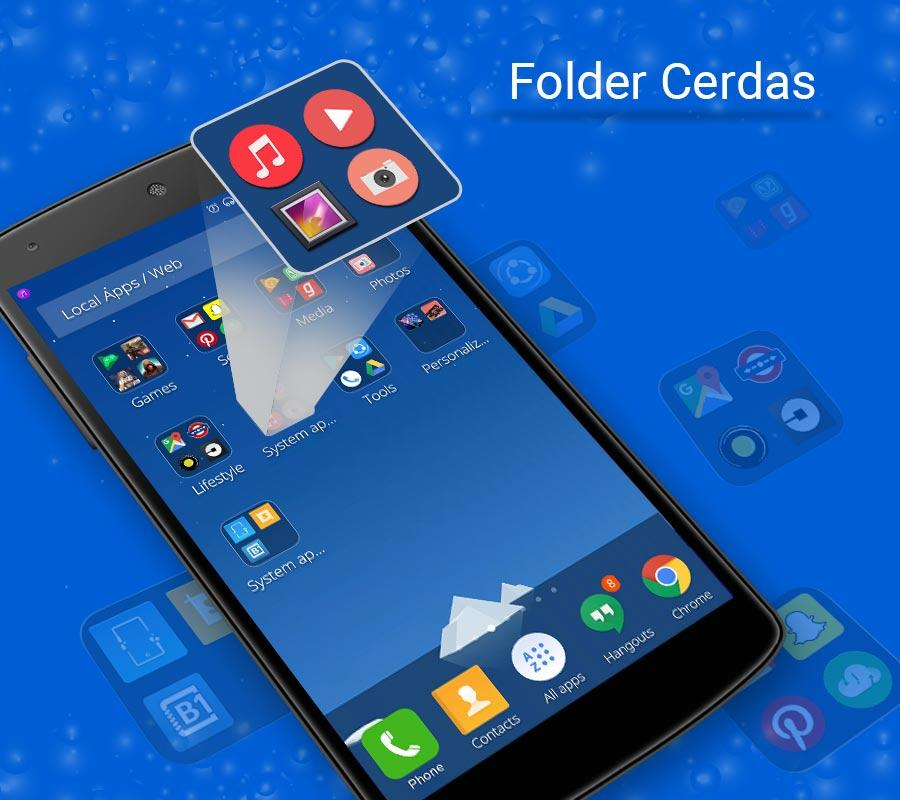 Gambar Tema 3D CM Launcher- screenshot